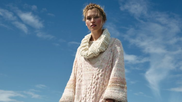 Free People Cupcake Tunic Sweater, Loopy Mango Cleopatra Handknit Cowl and Intimately Free People Warm Nights Legging