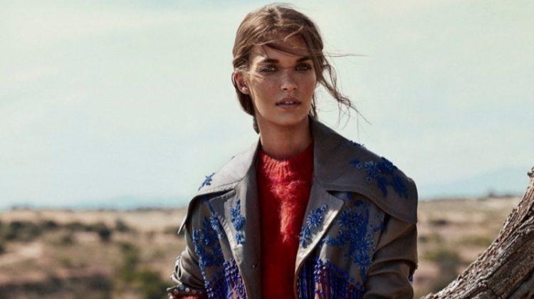 Gara Arias Channels Western Style for TELVA Magazine