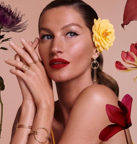 Gisele Bundchen is In Full Bloom for New Jewelry Campaign
