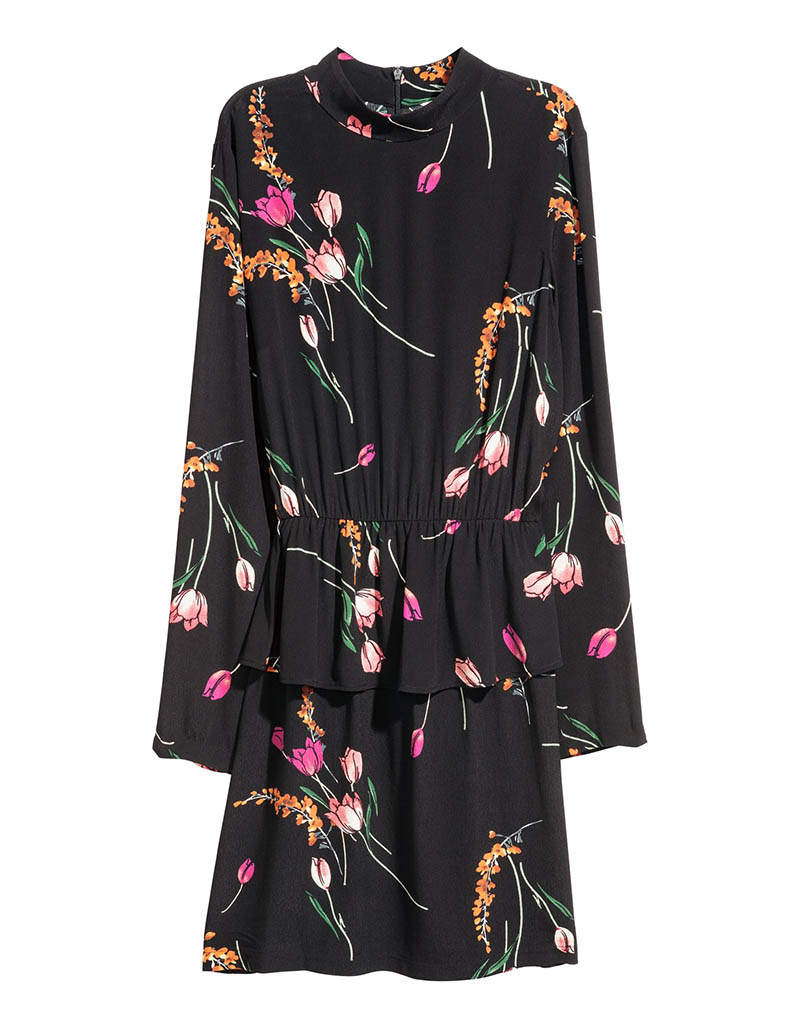H&M Dress Flounce $15 (previously $30)