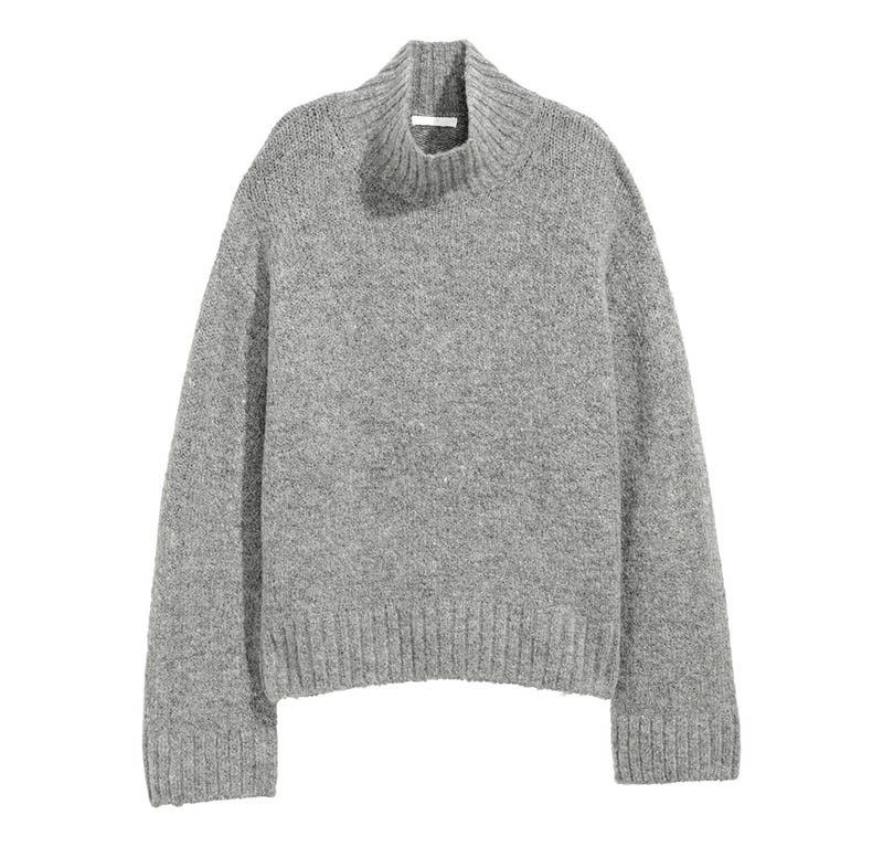 H&M Knit Turtleneck Sweater $15 (previously $35)