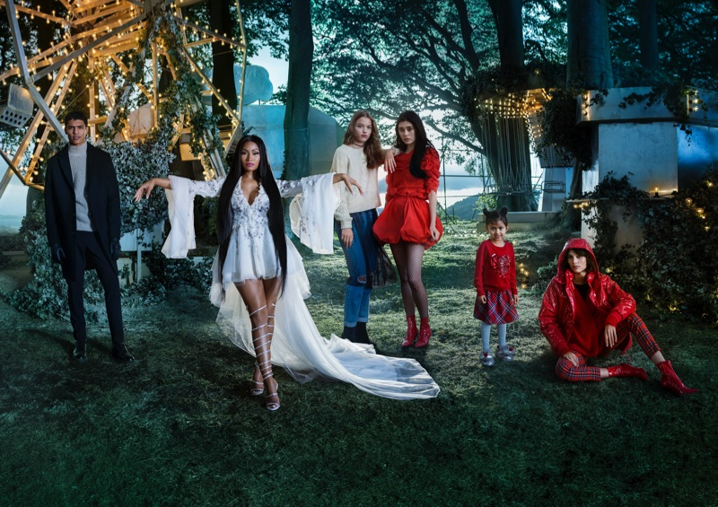 Tim Walker photographs H&M Holiday 2017 advertising campaign