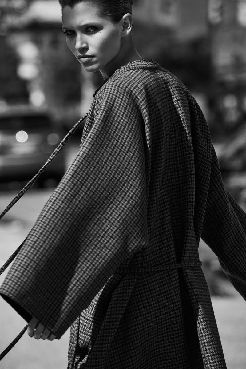 Hana Jiricikova Poses in the Fall Collections for Harper's Bazaar Turkey