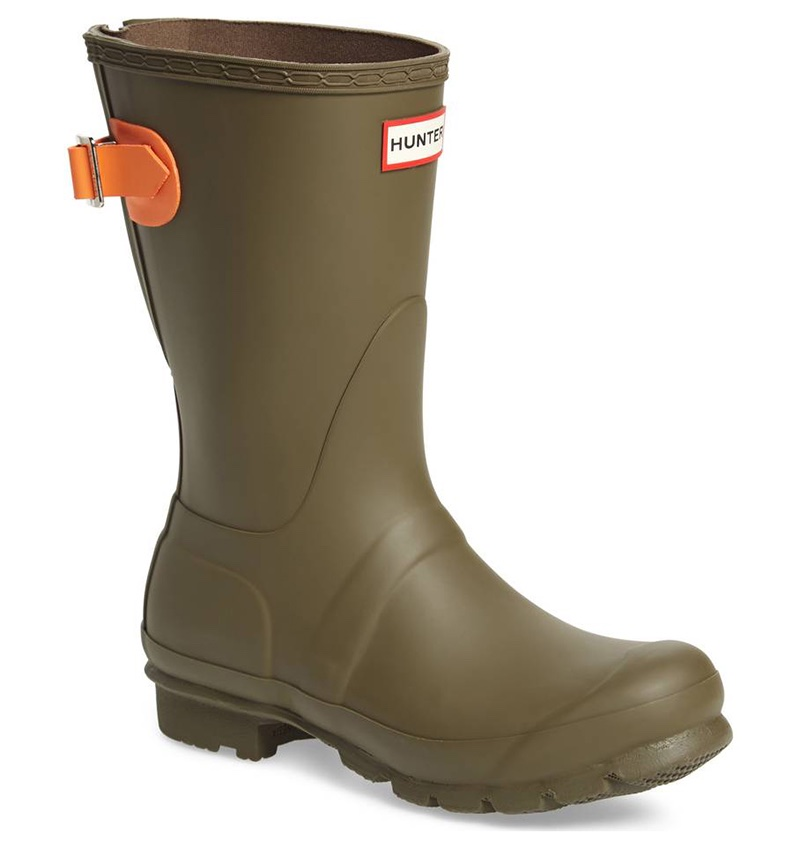Hunter Original Short Back Adjustable Rain Boot $100.49 (previously $150)