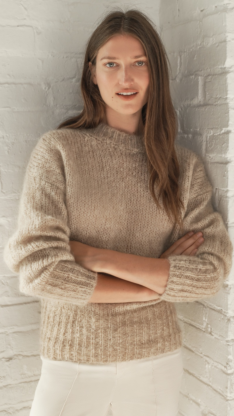 Isabel Marant Estelle Mohair Pullover Sweater $447 (previously $745)