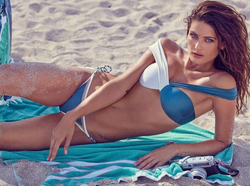 Isabeli Fontana Sizzles in Swimsuit Looks for GQ Brazil