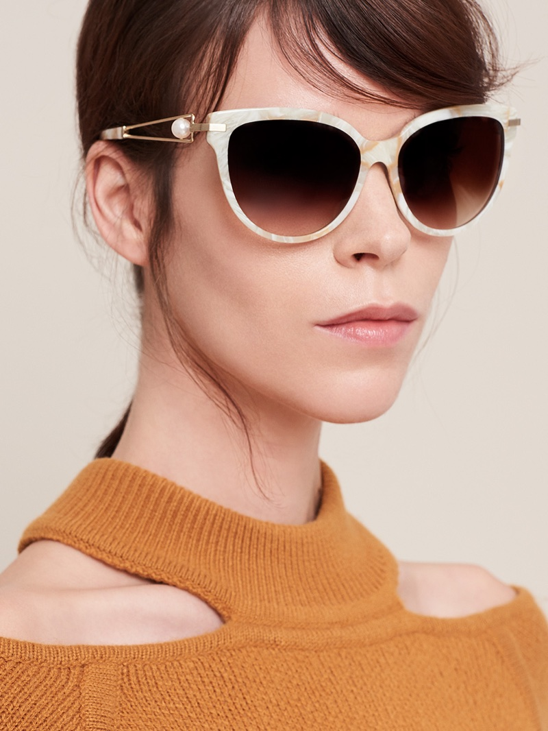 Meghan Collison fronts Jason Wu Eyewear fall-winter 2017 campaign