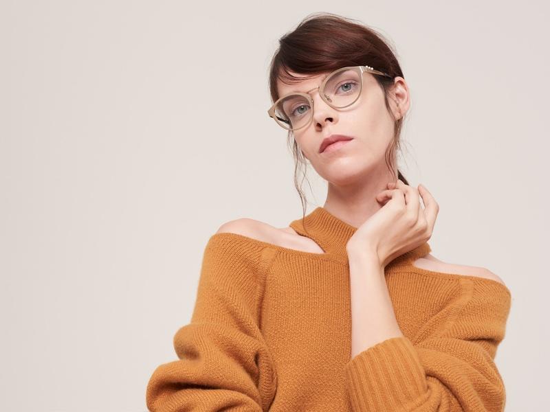 An image from Jason Wu Eyewear's fall 2017 advertising campaign