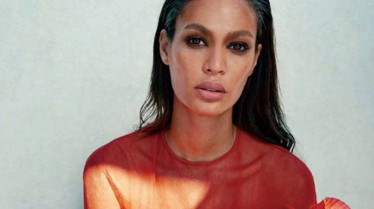 Joan Smalls Poses in Chic Ensembles for Harper's Bazaar Taiwan