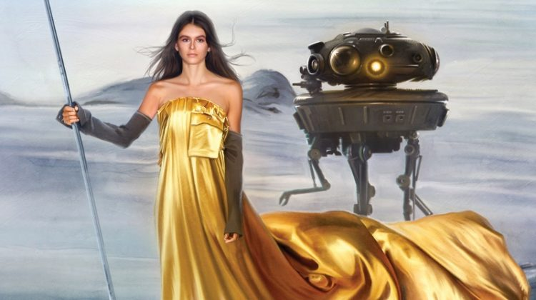 Kaia Gerber, Kendall Jenner Take On 'Star Wars' Fashion for Harper's Bazaar