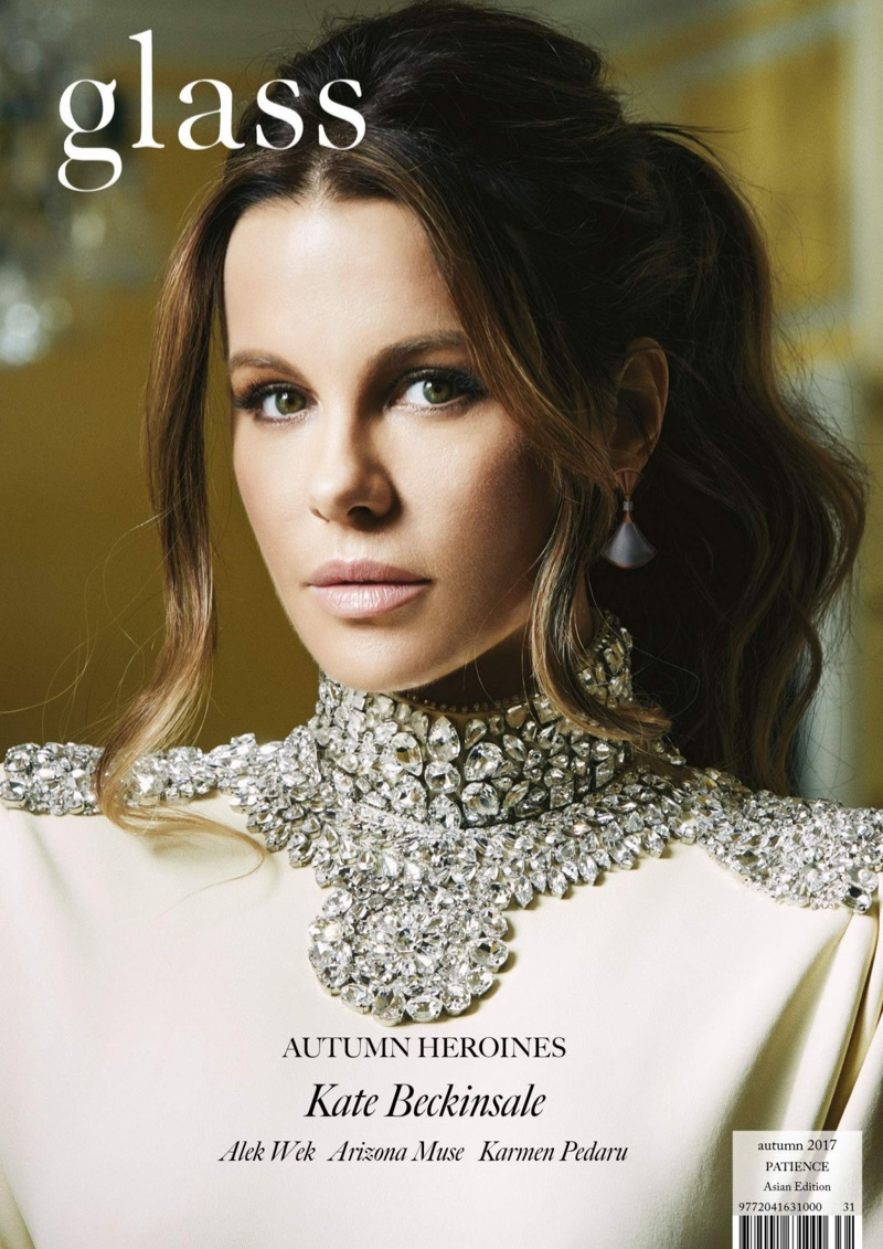 Kate Beckinsale on Glass Magazine Fall-Winter 2017 Cover