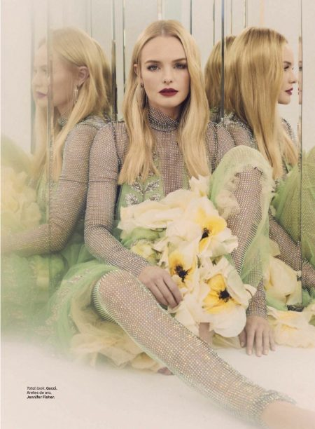 Kate Bosworth Wears Statement Looks for Glamour Mexico