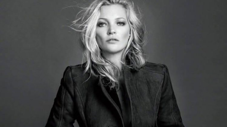Kate Moss Models Chic Ensembles for Vogue China