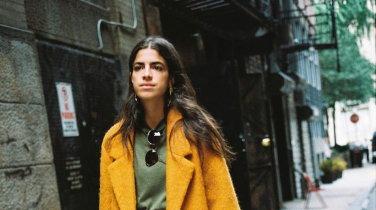 Leandra Medine styles her looks for Mango Journeys Chapter 7