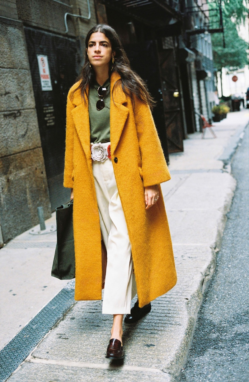 Leandra Medine styles her own looks for Mango Journeys: Chapter 7
