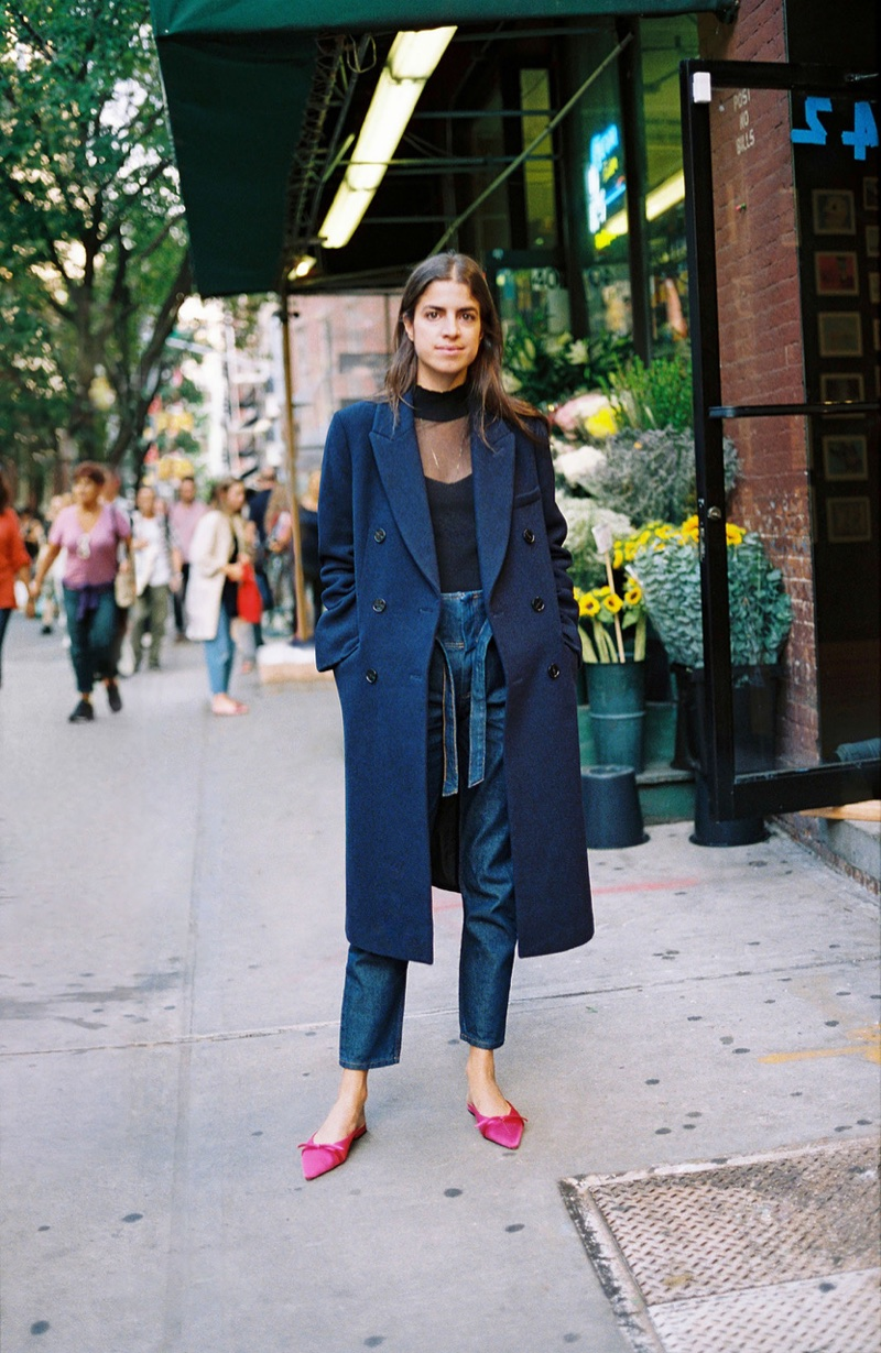 Blogger Leandra Medine stars in Mango Journeys Chapter 7