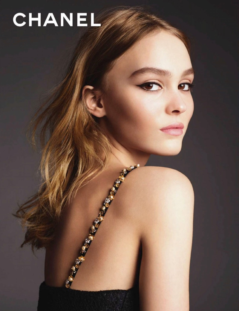 Lily-Rose Depp appears in Chanel L'eau No. 5 campaign