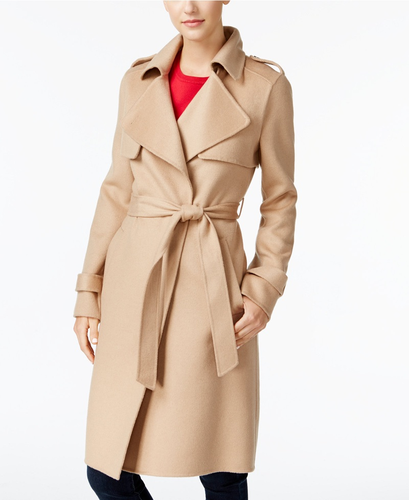 MICHAEL Michael Kors Belted Walker Coat $167.99 (previously $420)