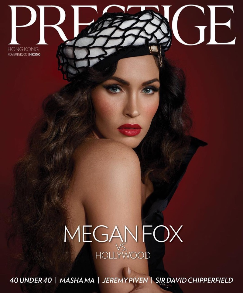 Megan Fox on Prestige Hong Kong November 2017 Cover