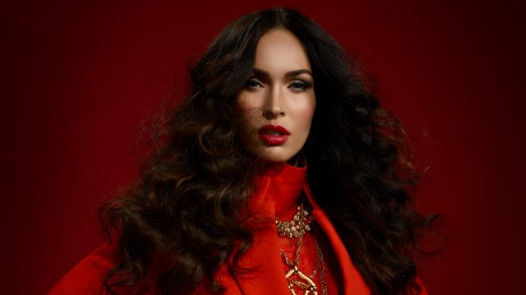 Looking red-hot, Megan Fox wears Givenchy outfit