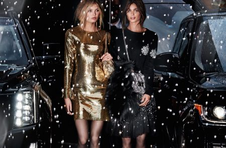 Michael Kors lets it snow in Holiday 2017 campaign