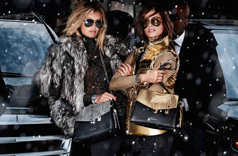 Michael Kors focuses on outerwear for Holiday 2017 campaign