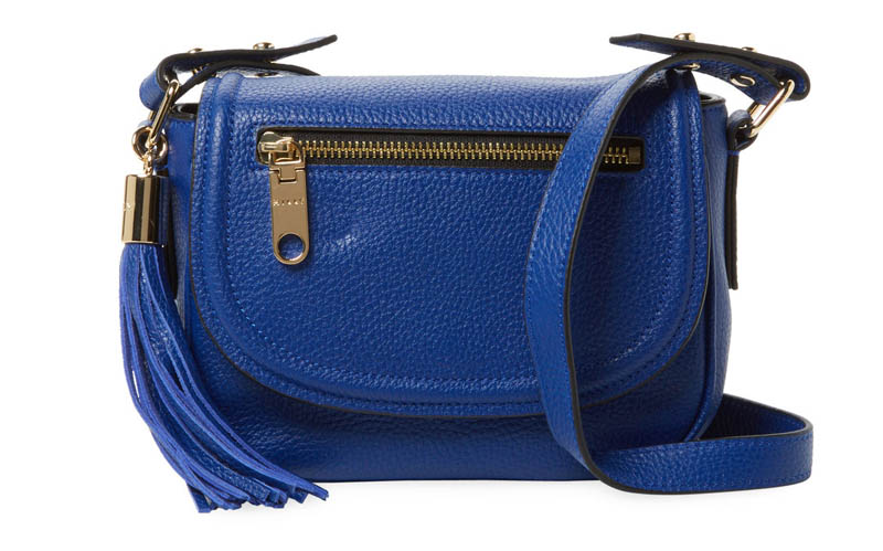 Milly Astor Mini Leather Saddle Crossbody $159 (previously $295)