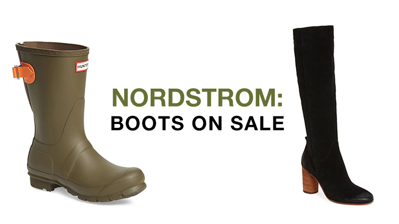Boots on sale at Nordstrom fall 2017