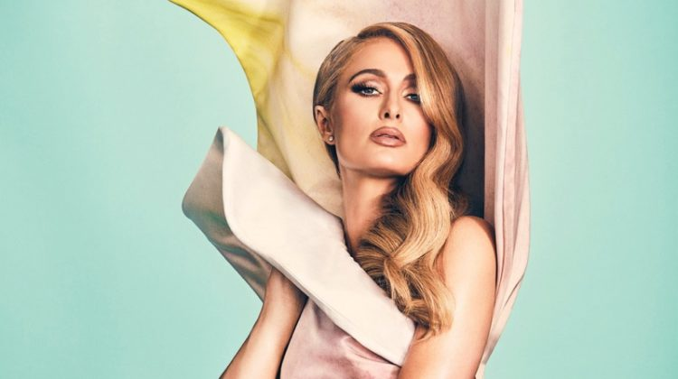 Paris Hilton Poses in Colorful Fashions for Ocean Drive Cover Story