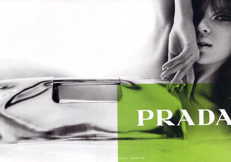 An image from Prada's spring-summer 2003 advertising campaign