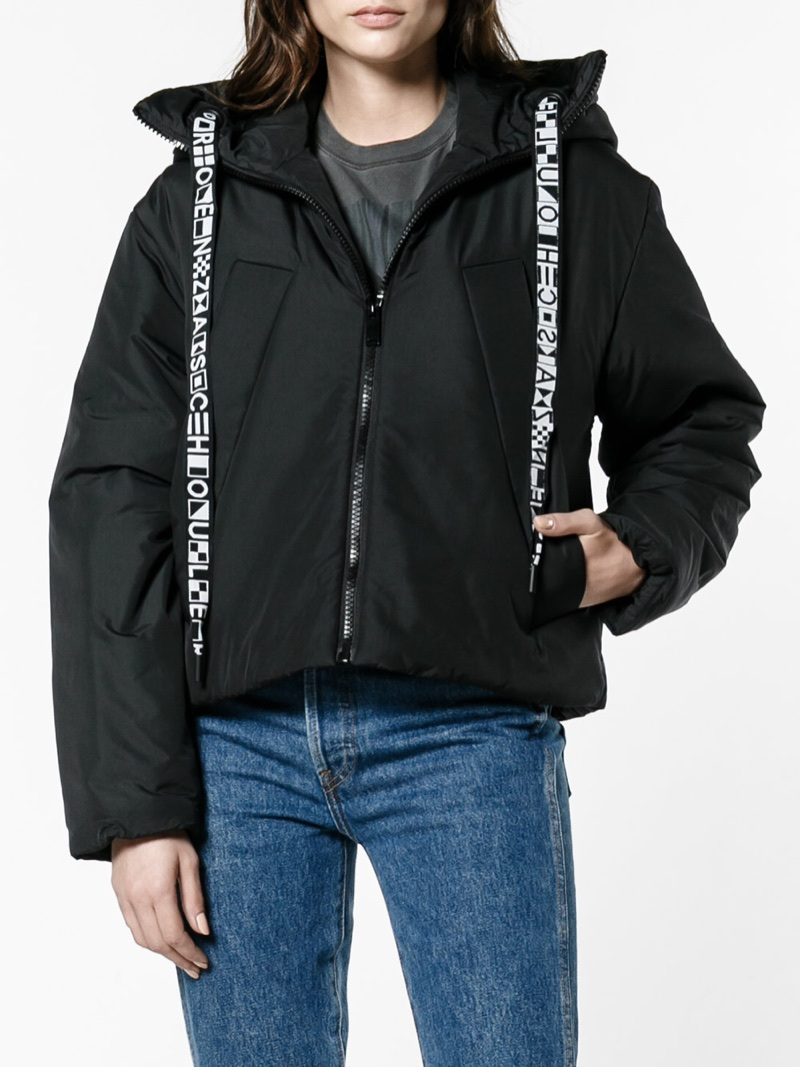 Proenza Schouler PSWL Hooded Coat with Drawstrings $785