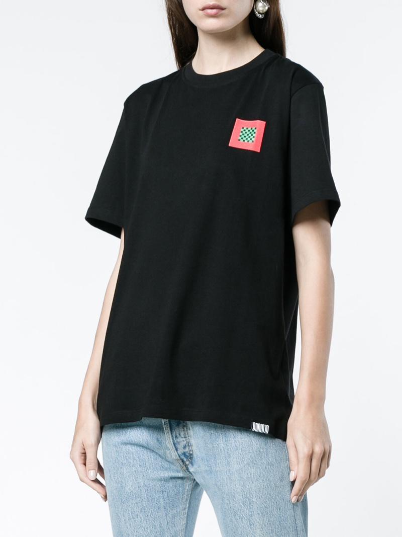 Proenza Schouler PSWL T-Shirt with Leopard Print $247