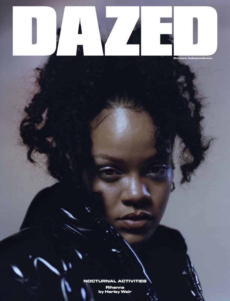 Rihanna on Dazed Magazine Winter 2017 Cover