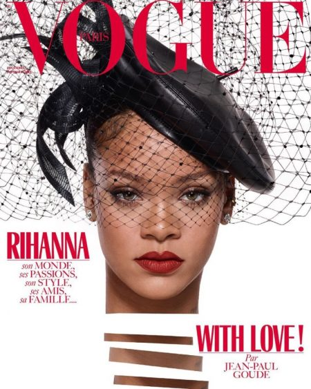 Rihanna Lands Vogue Paris' December Cover (Photos)