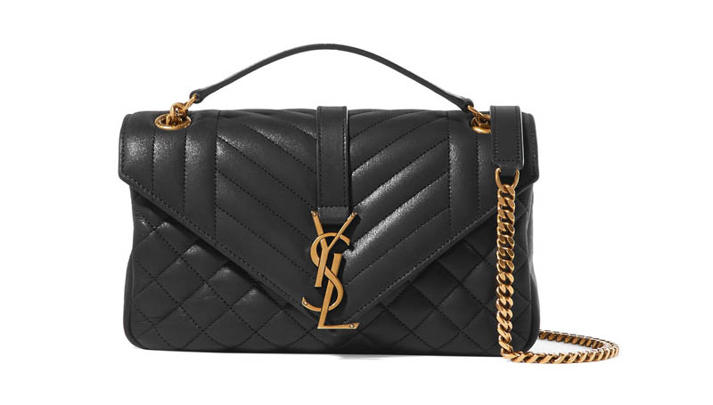 Saint Laurent Soft Envelope Quilted Leather Shoulder Bag $1,645 (previously $2,350)