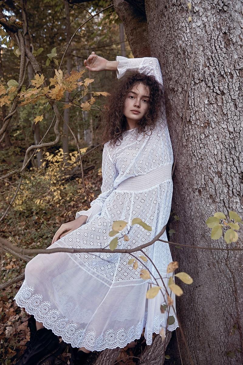 Sasha Kichigina is a Nature Girl in Summerwinter Homme Magazine