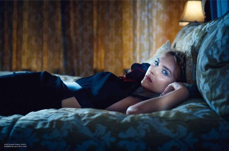 Snejana Onopka Enchants in Fairytale Fashions for IN Magazine