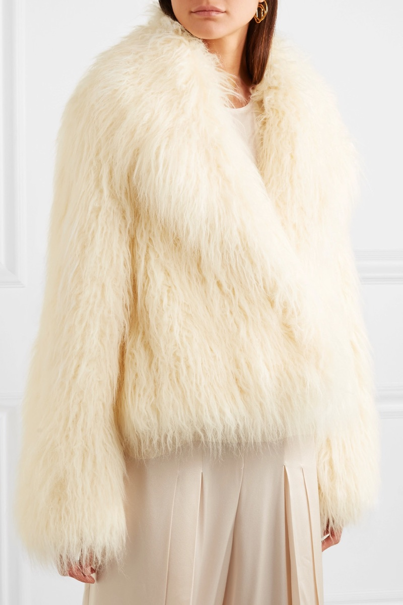 Stella McCartney Faux Shearling Coat $1,625