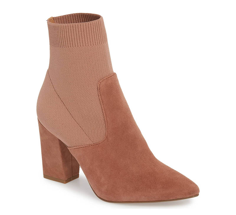 467e7139ceac Steve Madden Reece Sock Bootie in Tan Suede $99.20 (previously $129.95)