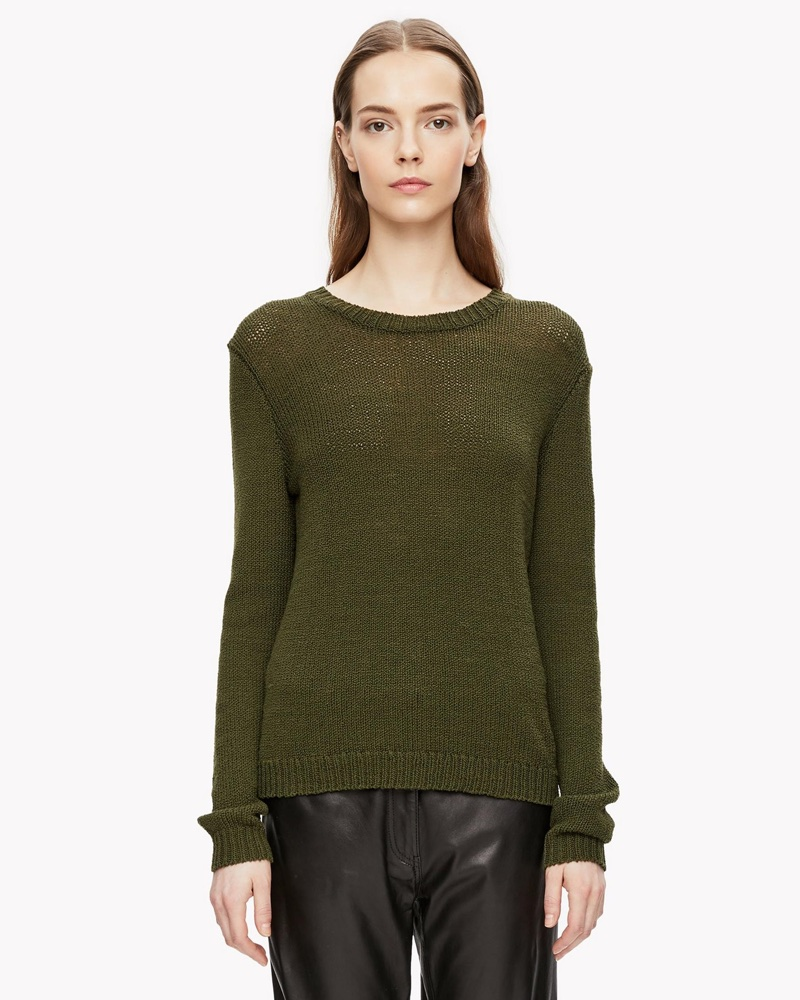 Theory Boucle Crewneck Sweater $171 (previously $285)