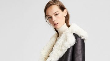 Theory Shearling Peacoat $1,377 (previously $2,295)