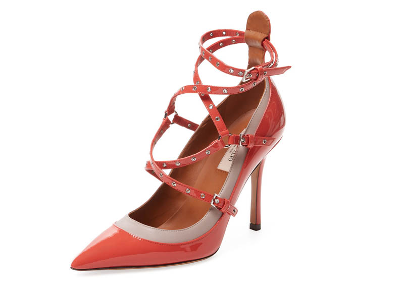 Valentino Love Latch Patent Leather Pump $549 (previously $995)