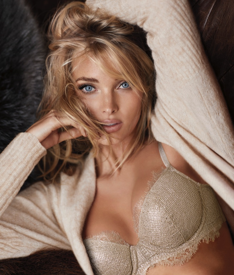 Elsa Hosk stars in Victoria's Secret Dream Angels Holiday 2017 campaign