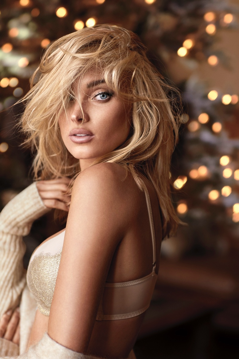 Elsa Hosk fronts Victoria's Secret Dream Angels Holiday 2017 campaign