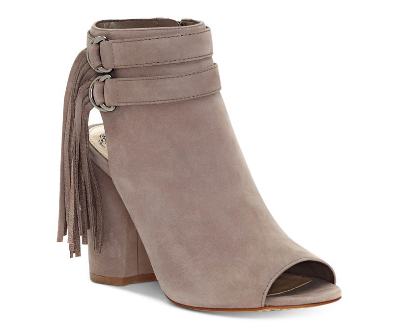 Vince Camuto Catinka Fringe Booties $69.43 (previously $139)