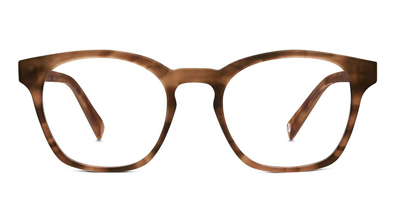 Warby Parker Felix Glasses in Sandalwood Matte $95