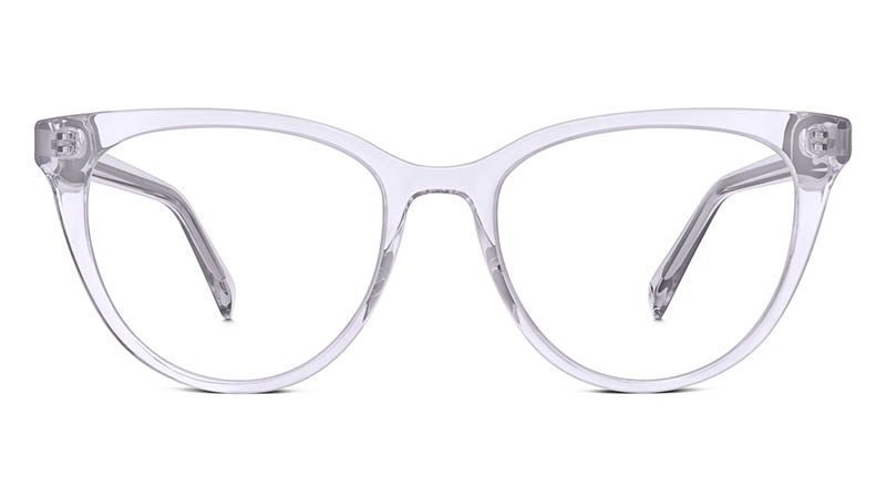 Warby Parker Haley Glasses in Lavender Crystal $95