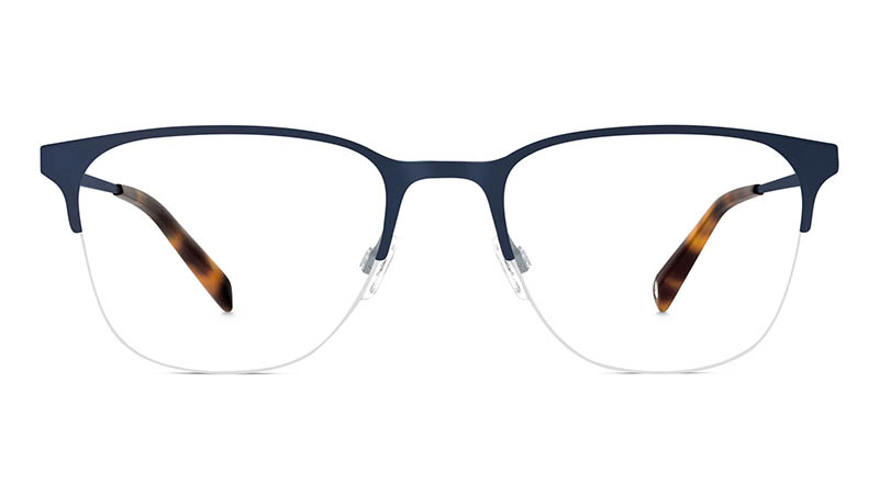Warby Parker Wallis Glasses Brushed Navy $145