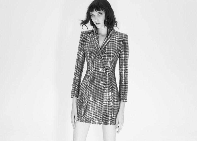 Grace Hartzel stars in Zara Night Out lookbook