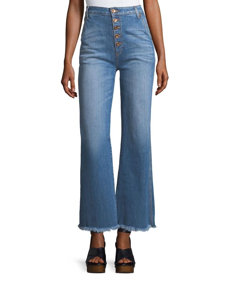 AO.LA High-Rise Flared-Leg Jeans $285